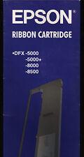 1x EPSON originale S015055 #8766 Nastro colorato Nero per stampante DFX 5000