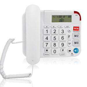 Replaces Portable Replacement large volume call landline for elderly office.