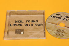 NEIL YOUNG CD LIVING WITH WAR COM E NUOVO NM !!!!!!!!