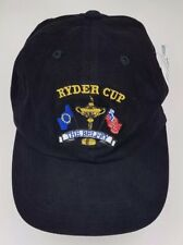 Ryder Cup Golf Hat Cap Usa The Belfry Pga Black Imperial