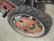"Allis Chalmers G tractor 6 x 30 30"" Bf Goodrich tread tire & Ac rim + center"