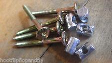 5 Muebles Pernos & Barrel NUTS Cuna Ikea MFI 6mm X 60mm M6 X 60 Tornillos