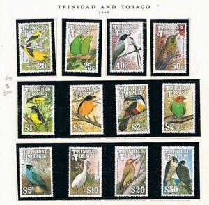 Trinidad & Tobago 1990 - Oiseaux De Îles To -sc 509-520 [ Sg 787-798] MNH P2