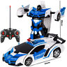 Transforming RC Car 2in1 Remote Control Driving Sport Cars Transformation Robots