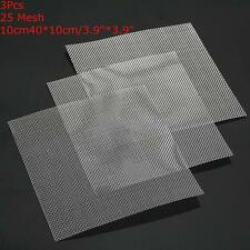 3x Stainless Steel 25 Mesh  Water Oil Flour Filtration Filter Sheet Wire Screen