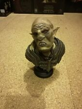 Sideshow Weta LOTR Orc Overseer mini bust