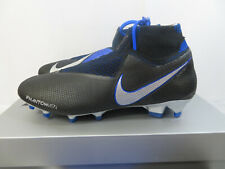 Nike Phantom VSN Elite DF FG Black Metallic Silver Ao3262 004 Men's Size 9