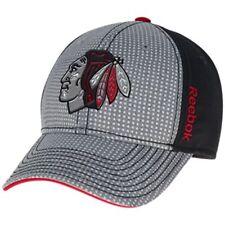778101d2328 Chicago Blackhawks Reebok Draft Structured Flex Fit Hat