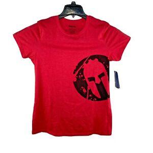 Reebok Shirt Adult XL Red Spartan Race 2011 Womens T-shirt New
