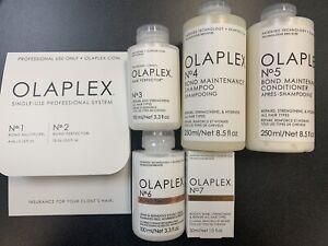 Olaplex #1, #2,  #3, #4, #5 , #6 & #7- Full Size, Sealed, FAMILY PACK XMAS DEAL