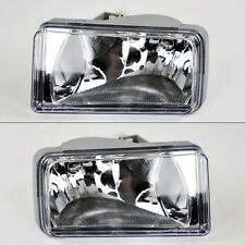 Chevy Avalanche Silverado Tahoe Suburban Replacement Fog Lights - Crystal Clear
