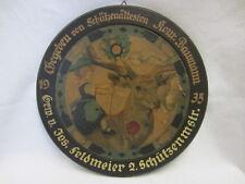 """SCHÜTZENSCHEIBE - Konrad Baumann an Jos.Feldmeier - 1935 - GEGEND """"SCHWARZACH"""""""