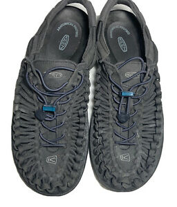 Keen Uneek Mens Para Cord Sport Sandal Shoes Gray Teal Green Casual Size 10.5 M