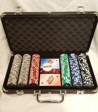 300 pc Las Vegas Pocker Chip & Play Card Set