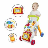 Baby Multifunction Music Walker Toddler Kid Push Activity Child Toys Infant  14