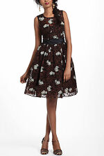 NWT Anthropologie Chrysanthemum Tea Dress Size 6 by Tracy Reese
