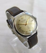 ERNEST BOREL VINTAGE ALL SS SCREWBACK WP FELSA CAL 692 BIDYNATOR  AUTO WITH DATE