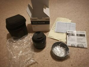 Sigma 19mm Prime Lens F2.8 DN Art for Micro Four Thirds, PRISTINE Condition