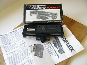 Novoflex Stereo Focusing Rack Novoflex Focusing Rack Novoflex Stereo Rack