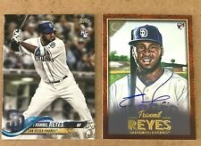 2 Franmil Reyes 2018 Topps Update SSP Variation/Gallery RC AUTO/25 lot Indians