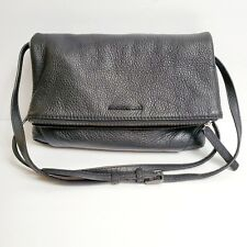 MANDARINA DUCK Women's Shouder & Cross Bag Black Pebble Leather