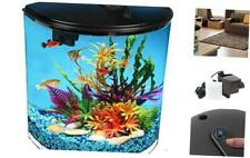AquaView 3.5-Gallon Fish Tank with Power Filter & Led Lighting