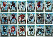 2007-08 MCDONALDS UPPER DECK COMPLETE SET LOT 50 Cards Rare Jagr Sakic Mint BV