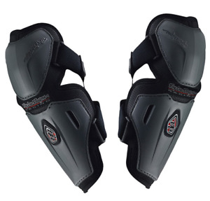 TROY LEE DESIGNS TLD SOLID GRAY ADULT MENS MTB CYCLING ELBOW FOREARM GUARDS OS