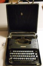 Antique L C Smith & Corona Sterling Typewriter Floating Shift With Case!!!