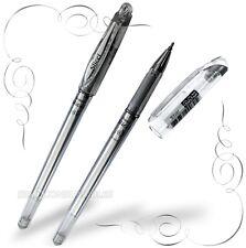 Pentel slicci Metallic Gel Roller Ball Pen - 0.8 mm-Shiny Silver Ink-BG208