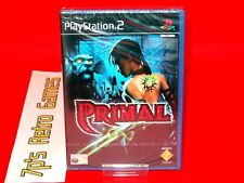 Primal NEW (PS2) Complete ✔️ SEALED ✔️ 60GB PS3 Compatible