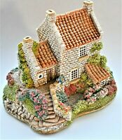 Vintage Retro Lilliput Lane Runswick House Handmade 1990 English 9cm wide