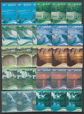 GUATEMALA :2003 Tourism  set SG1405-1414  MNH strips of three