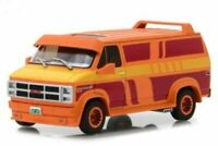 GREENLIGHT 86327, 1983 GMC VANDURA CUSTOM ORANGE WITH CUSTOM GRAPHICS 1:43 SCALE
