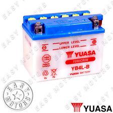 BATTERIA YUASA YB4L-B PIAGGIO NRG POWER DT 50 2006>2011