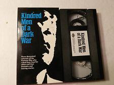 Kindred Men of A Dark War Vietnam War Stories Vhs