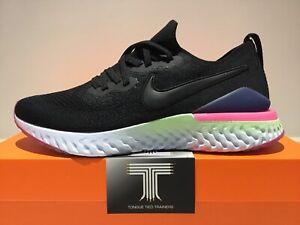 Nike Epic React Flyknit 2 ~ BQ8928 003 ~ Uk Size 9 ~ Euro 44