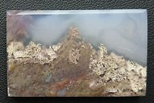 Agate paysage 82.6 carats - Natural moss agate Indonesia