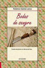 BODAS DE SANGRE (BIBL.BASICA). NUEVO. Nacional URGENTE/Internac. económico. LITE