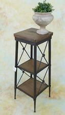 Standregal Holz Blumensäule Ablage Landhaus vintage Regal Podest E16016-b