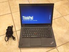"""Lenovo Thinkpad T440 i5-4200M 2.5 / 3.1 GHz 8GB RAM, 500G, 14"""" 1366x768, Win 8"""