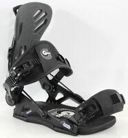 GNU Freedom Snowboard Bindings, Large (US Men's 9-11), Black New 2021