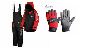 Imax Thermo Suit 2PC Thermal Lining Sea Fishing 100% Waterproof + Imax Gloves