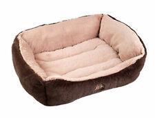 Gor Pets Dream Soft Faux Fur Slumber Bed Luxury Washable Cosy Puppy Dog Basket