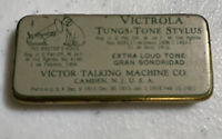 Phonograph Victrola Victor Talking Machine Tungs Tone Stylus Needle Tin X Loud