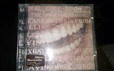Album CD ALANIS MORISSETTE - SUPPOSED FORMER INFATUATION JUNKIE 1998 Gema