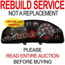 00 01 02 03 04 Audi A4 A6 S4 S6 Instrument Cluster NEW CENTER LCD REBUILD REPAIR