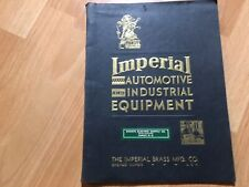 1931 Imperial Brass Automotive Industrial Equipment Catalog For Chevy **