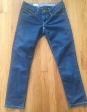 Women's GAP 1969 Authentic Cropped Jeans Medium Wash size 27/4