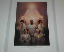 Thomas Blackshear KEEPERS OF THE FLAME 17X11 new in shrinkwrap RARE OUT OF PRINT
